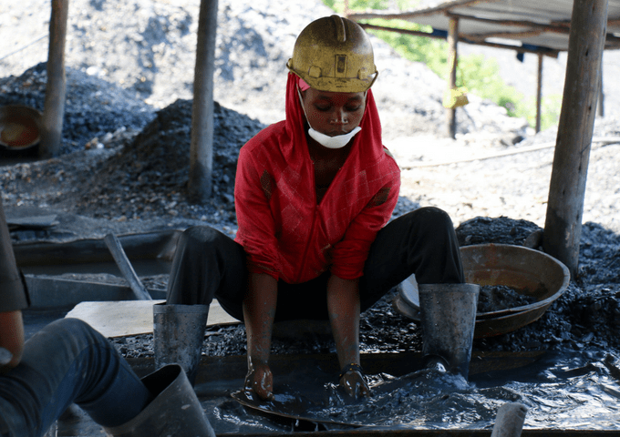 Women in artisanal and small-scale mining