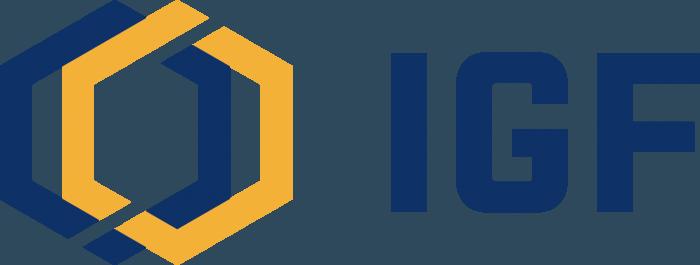 IGF logo blue
