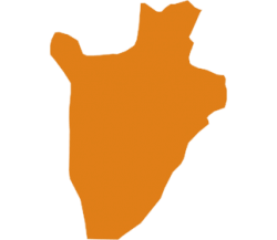 map of Burundi
