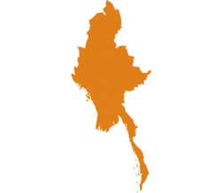 map of Myanmar