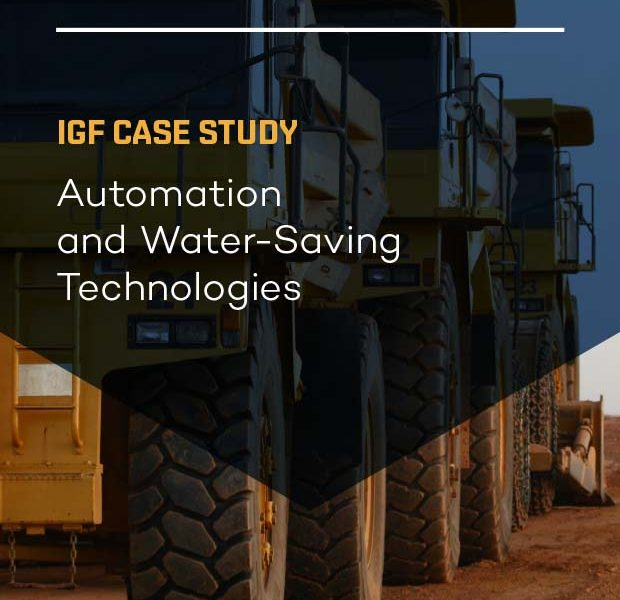 Cover page for case study on automation and water tech
