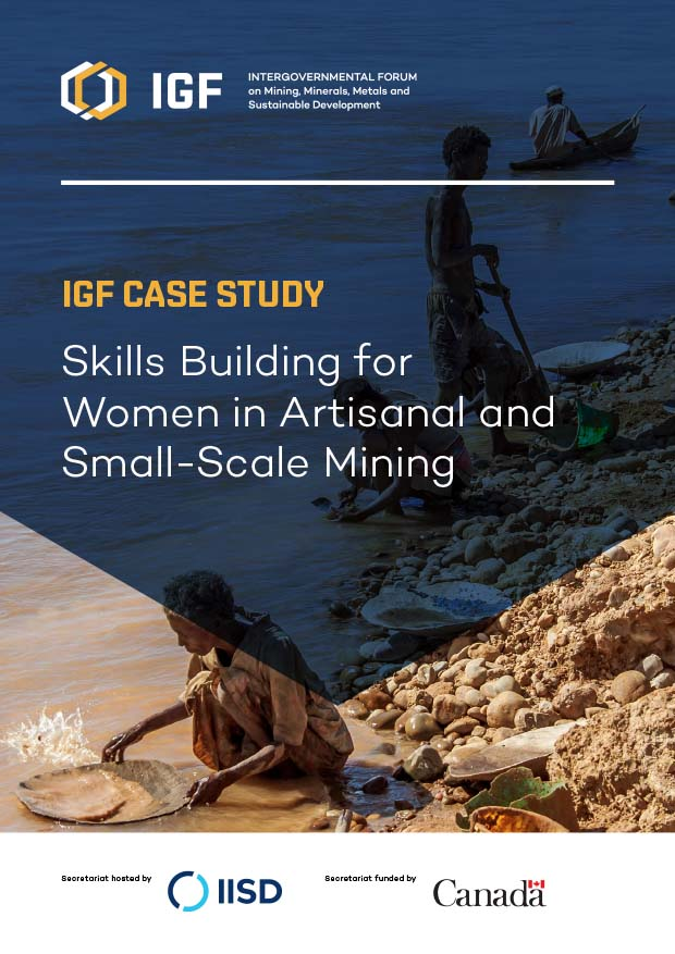 Case study on women in artisanal and small scale mining