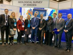 Members from Government of Sweden and IGF at PDAC 2020